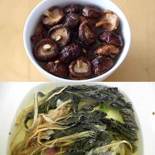 Canh cải khô cật heo- món ngon lạ miệng, độc đáo